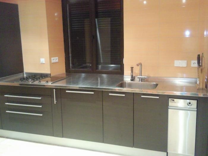 plan de travail cuisine inox table travail inox. Black Bedroom Furniture Sets. Home Design Ideas